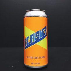 First Chop F.C. Pilsner Gluten Free Pilsner Manchester vegan friendly