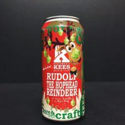 Brouwerij Kees Rudolph The Hophead Reindeer Christmas festive IPA India Pale Ale the Netherlands vegan friendly
