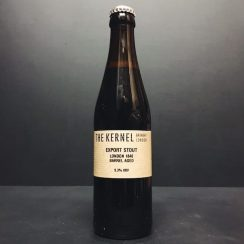 The Kernel Export Stout London 1840 Barrel Aged Red wine Cognac London vegan friendly