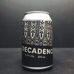 Marble Decadence 2018 Imperial Stout Manchester vegan friendly