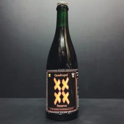 De Struise XXXX Quad Bourbon aged Belgium vegan friendly