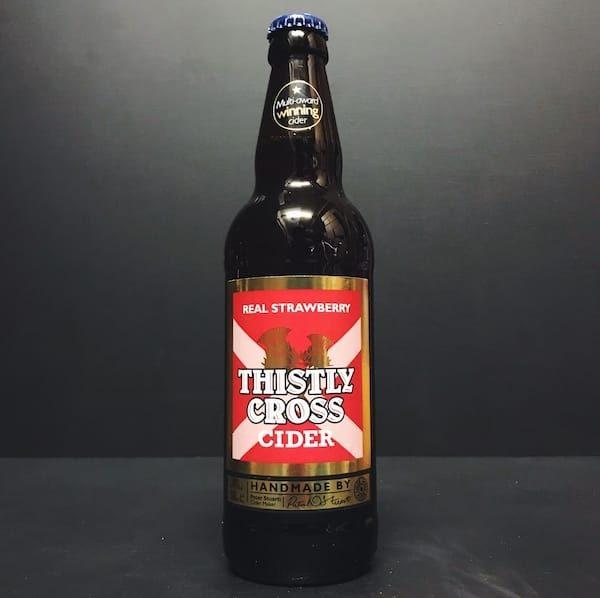 Thistly Cross Strawberry Cider Scotland Vegan Friendly Gluten Free