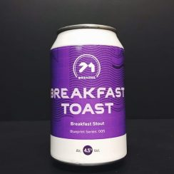 71 Brewing Breakfast Toast Breakfast Stout Scotland
