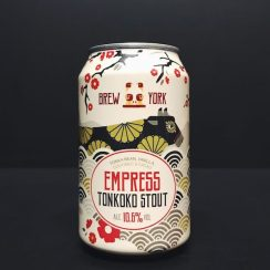 Brew York Empress Tonkoko Imperial Stout York Tonka Bean, Vanilla, Coconut and Cacao Imperial Stout