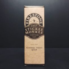 Firestone Walker Stickee Monkee Barrel Aged Central Coast Quad Quadrupel USA vegan friendly