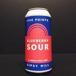 Five Points X Gipsy Hill Blueberry Sour vegan friendly London collaboration