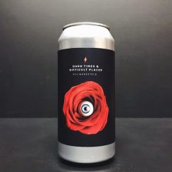 Garage Beer Co. Dark Times and Difficult Places Sour Berliner Weisse with pears and blackberries J Wakefield collaboration Barcelona Spain