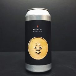 Garage Beer Co. X The Veil Sheet 33 vanilla cinnamon Porter collaboration Barcelona Spain
