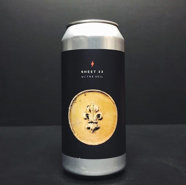 Garage Beer Co. X The Veil Sheet 33 vanilla cinnamon Porter collaboration Barcelona Spain