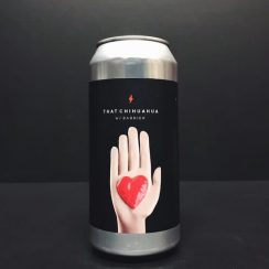 Garage Beer Co. X Barrier Brewing That Chihuahua Double IPA DIPA India Pale Ale Barcelona Spain vegan friendly