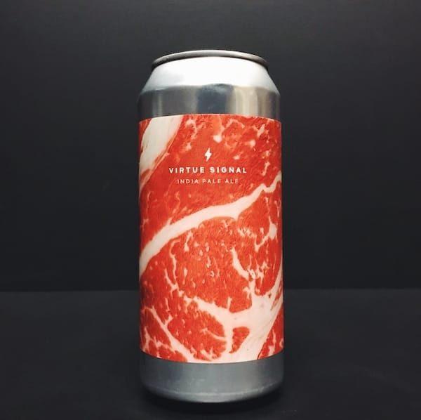 Garage Beer Co. Virtue Signal IPA India Pale Ale Barcelona Spain vegan friendly