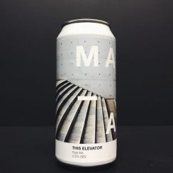 Manual Brew Co This Elevator Pale Ale Scotland vegan friendly