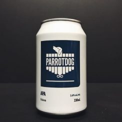 Parrot Dog Falcon APA American Pale Ale New Zealand vegan friendly