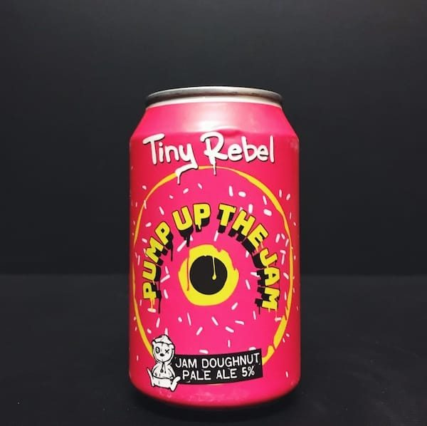 Tiny Rebel Pump Up The Jam Jam Doughnut Pale Ale Wales