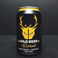 Wild Beer Co. Millionaire Salted Caramel and Chocolate Milk Stout Somerset
