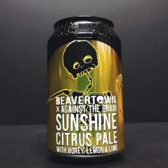 Beavertown Sunshine Against The Grain collab collaboration Citrus pale ale with honey, lemon and lime. London