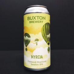 Buxton Myrcia Oatmeal Hopburst Session IPA India Pale Ale Derbyshire vegan friendly