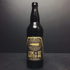 Cigar City 110k+OT Batch 6 Imperial Stout with Raspberries aged in Port Wine Barrels Florida USA vegan friendly