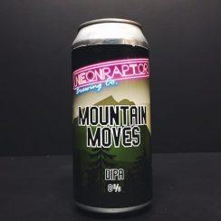 Neon Raptor Mountain Moves DIPA Double IPA India Pale Ale Nottingham vegan friendly
