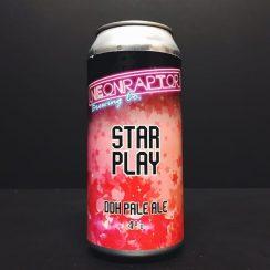 Neon Raptor Star Play DDH Pale Ale Double Dry Hopped Vegan Friendly Nottingham