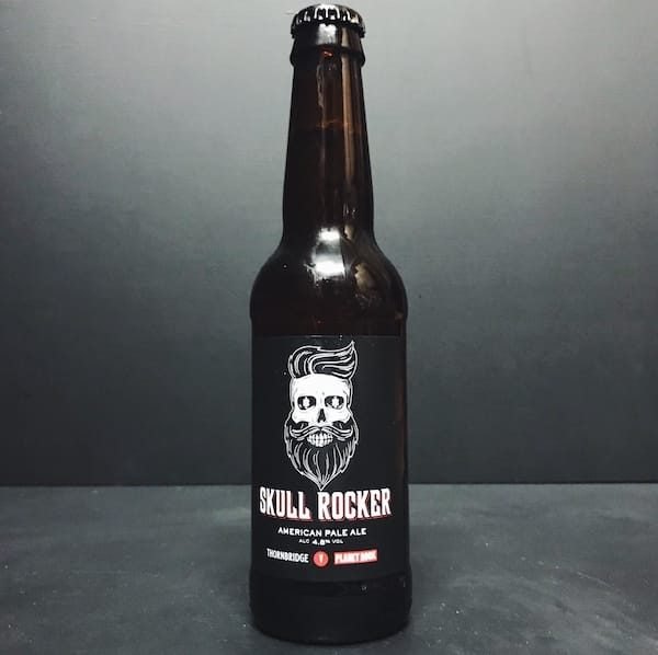 Thornbridge Skull Rocker Planet Rock Collaboration American Pale Ale APA Derbyshire