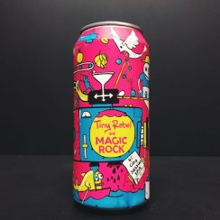 Tiny Rebel X Magic Rock Citra Session IPA India Pale Ale Collab Collaboration vegan friendly Wales