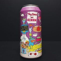 Tiny Rebel X Siren Craft Brew Dark Cherry & Chocolate Barley Wine Vegan Friendly collaboration Wales
