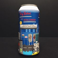 Tiny Rebel X Big Drop Brew Co Imperial Mocha Vanilla Shot Stout Collaboration Wales