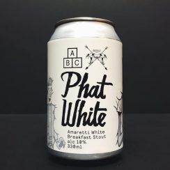 Alphabet Phat White Amaretti White Breakfast Stout Manchester