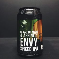 Beavertown X Affinity Envy Spiced IPA India Pale Ale collaboration London vegan friendly