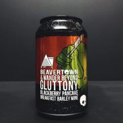 Beavertown X Wander Beyond Gluttony Blackberry Pancake Breakfast Barley Wine collaboration London