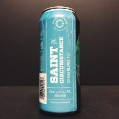 Collective Arts Saint of Circumstance Citrus Blonde Ale Canada vegan friendly