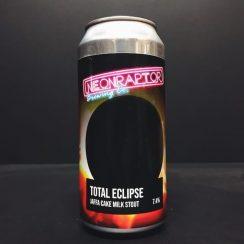 Neon Raptor Total Eclipse Jaffa Cake Milk Stout Nottingham