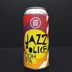 One Mile End Jazz Police DDH IPA London vegan