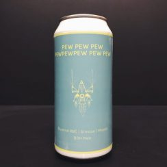 Pomona Island Pew Pew Pew PewPewPew Pew Pew DDH Pale Ale Salford Manchester Vegan friendly