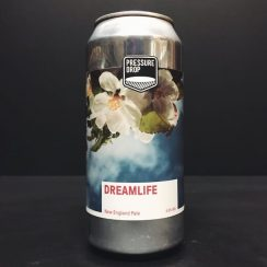 Pressure Drop Dreamlife New England Pale Ale London vegan friendly