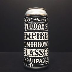 Black Iris Todays Empires Tomorrows Glasses IPA Beatnikz Republic collaboration Nottingham vegan