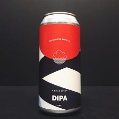 Cloudwater Big & Juicy DIPA Manchester vegan