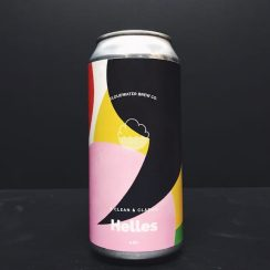 Cloudwater Clean & Classic Helles Manchester vegan