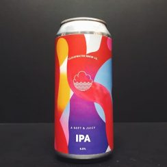 Cloudwater Soft & Juicy IPA Manchester Vegan