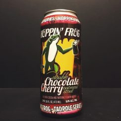 Hoppin Frog Double Chocolate Cherry Oatmeal Stout USA vegan