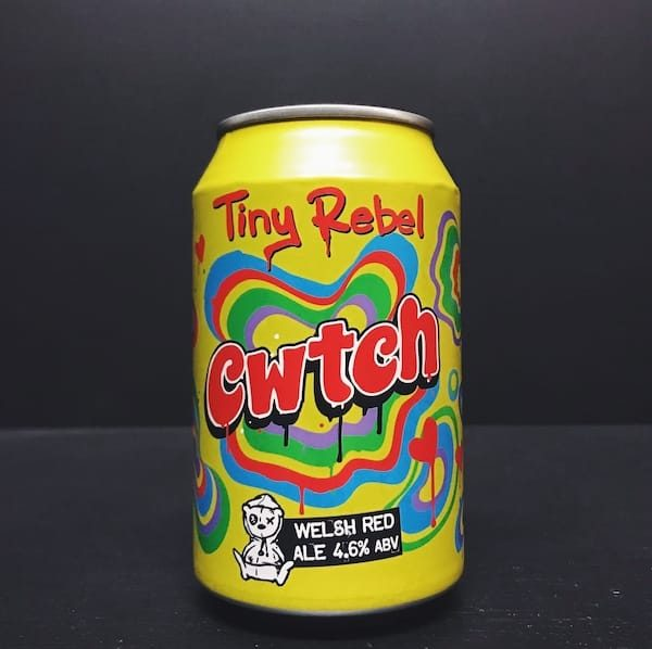 Tiny Rebel Cwtch Welsh Red Ale Vegan friendly