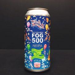 Totally Brewed Fog 500 NEIPA Nottingham vegan