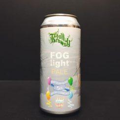 Totally Brewed Fog Light V1 Hazy Pale Nottingham vegan