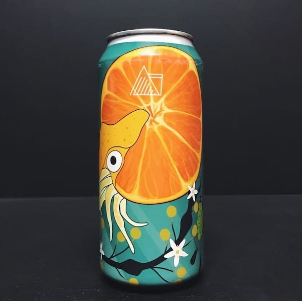 Wander Beyond Nautiloid Imperial Milkshake IPA with orange and mandarin Manchester
