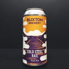 Buxton Track Cold Steel Rail Pale Ale Derbyshire vegan