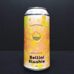 Cloudwater Bellini Slushie Manchester vegan brut sour peach