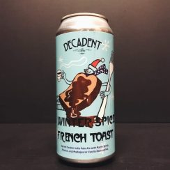 Decadent Ales Winter Spice French Toast IPA USA vegan
