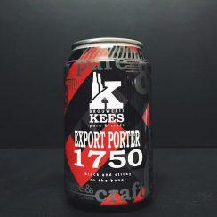 Kees Export Porter 1750 Netherlands vegan