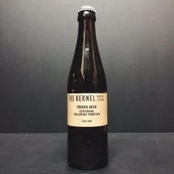 The Kernel Brewery Foeder Beer Centennial Hallertau Tradition Foudre Aged Belgian Pale London vegan